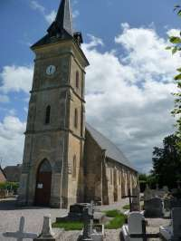 Vue générale de l'église