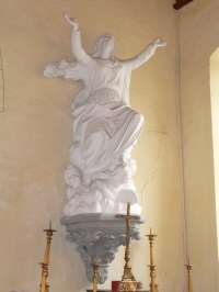 Basseneville. Eglise de l'Assomption. Vierge de l'Assomption.