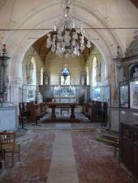 Eglise, intérieur, vue générale du choeur