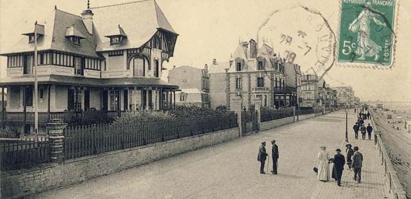 Autour de Cabourg en cartes postales (1900-1925)