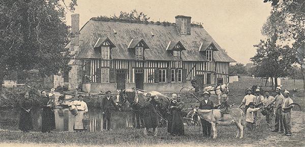 Le canton de Cambremer en photographies et en cartes postales 1875-1920