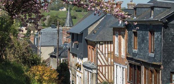 Exposition Bourgs et villages du Pays d'Auge